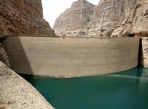 وضعیت ذخیره آب ها در سدها