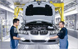 استفاده لوله پلی اتیلن در کارخانه BMW