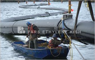 روش نصب لوله پلی اتیلن در دریا