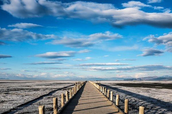 خشکی دریاچه ارومیه
