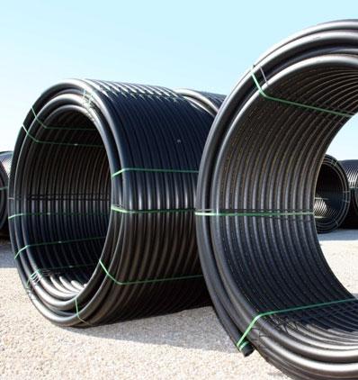 Carogate polyethylene pipe