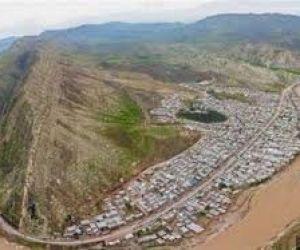 به دنبال طغیان رودخانه کشکان لوله موقت تامین گاز معمولان قطع شد